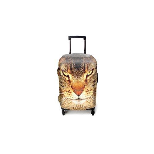 Funda de maleta Luggitas Feline Gaze talla M