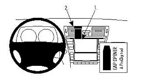 Brodit 854497 ProClip Halterung