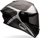 Bell Casco Race Star Tracer Black Matt/Grey, L