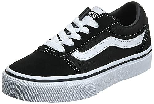 Vans Ward Suede/Canvas, Zapatillas, Black/White Iju, 38 EU