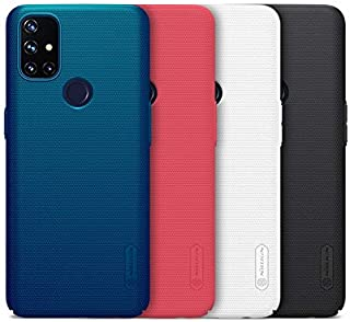 "ALSAFWAH Case For OnePlus Nord N10 5G, Nillkin Super Frosted Shield Back Hard Case For OnePlus Nord N10 5G [6.49"" 2020] [B..."