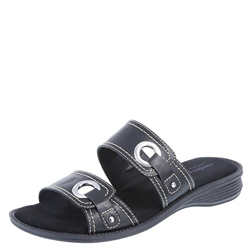 Predictions Comfort Plus Women's Black Women's Percy Slide 7 Wide