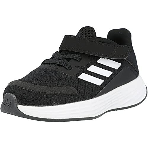 adidas Duramo SL I, Scarpe da Ginnastica Unisex-Bambini, Core Black/Ftwr White/Dash Grey, 19 EU