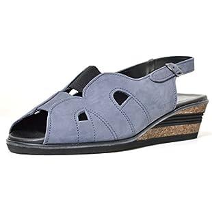 Quintent Comfort fit Leather Sandals Z105 (UK 6)