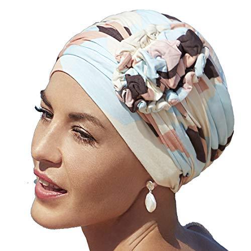 Christine Headwear Turbante in Viscosa di bamb/ù Yoga Collezione Primavera-Estate