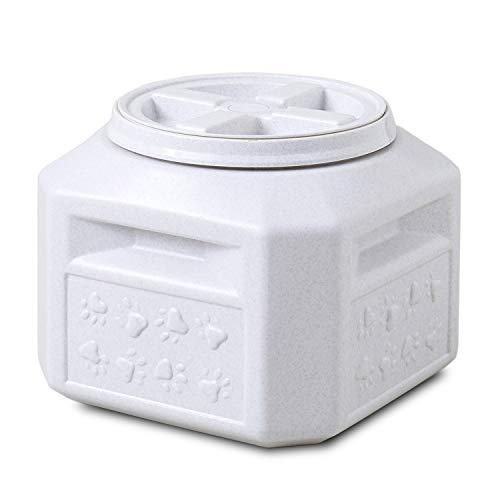 ドライフードストッカー 6.7kg ドライフード キャットフード ドッグフード チモシー 牧草 ストッカー 保存容器 コンテナ ボックス 犬 猫 小動物 鳥 餌入れ 容量(約)6.7kg スコップ付き