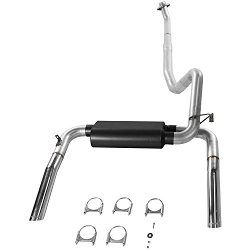 Flowmaster 17234 Cat-back System - Dual Rear Exit - American Thunder - Moderate Sound