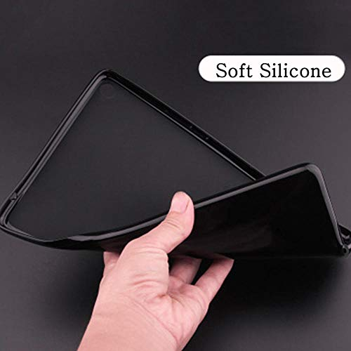 Flip Case für Huawei Media Pad T1 10 T1-A21W T1-A21L T1-A23L 9.6 Abdeckung für Business-Tablet-Hüllen Ledertaschen für Mediapad Tab T1-Schwarze Softshell