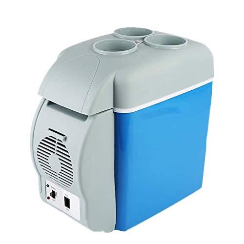 Aohi WXQ-XQ Refrigerator 7.5L Mini Car Refrigerators Portable Freezer Portable 12V Electric Cooler Box Warmer Freezer Outdoor Camping Picnic Travel Cooling Below Ambient 20°Heating 55-65° Car refri