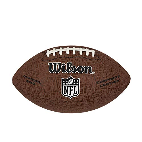 Wilson American Football NFL Limited, Mischleder, Offizielle Größe, Braun, WTF1799XB