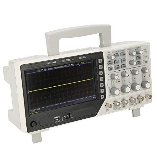 Fuente de señal Almacenamiento digital Osciloscopio de 4 canales con medición automática Osciloscopio con sistema de disparo digital para la industria(European regulations)