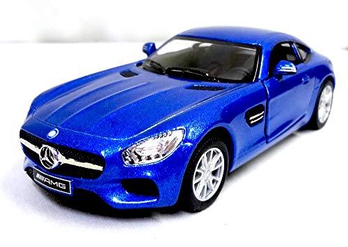(キンスマート) メルセデスAMG GT 1:36 ブルー
