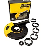QuickT GDS702K 7 Inch Universal Surface Grinding Angle Grinder Dust Shroud, Dust Cover Collector with Vacuum...