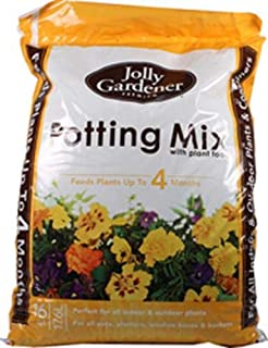 Oldcastle Jolly Gardener 50150027 Premium Potting Mix with Plant Food, 1 Cubic Feet