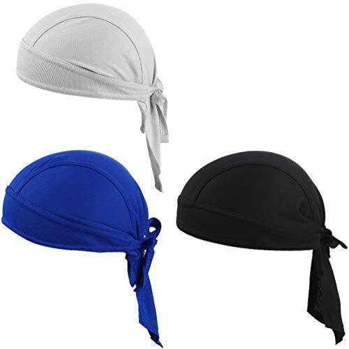 VBIGER Bandana Cap Sommermütze Bandana Kopftuch Atmungsaktive Fahrrad Kopfbedeckung