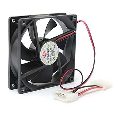 Ventilador De Computadora12v 4pin Computer PC CPU Silent Cooling Cooling Fan Fan Enfriamiento De Gabinete De Computadora