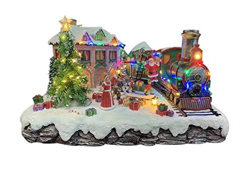 Navidad Decoración Casa Tren Marca 25 twentyfive