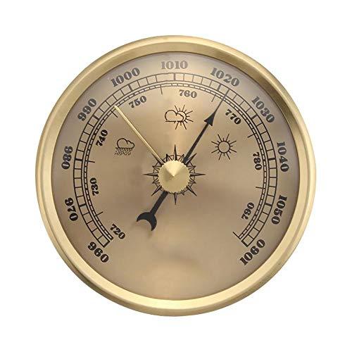 XLTWKK Marine Barometer Fabrik Labor nach Hause Wand Haushalt Thermometer Hygrometer Wetter Barometer Werkzeug