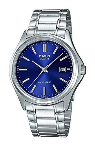 Casio Reloj Analógico para Hombre de Cuarzo con Correa en Acero Inoxidable MTP-1183PA-2AEF