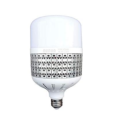 NUNUA High Power LED Bulb, 50W High Watt Commercial Bulbs, 450W-500W Light Bulb Equivalent, Daylight White 6500K, E26 Medium Base, LED Corn Light Bulb for Garage Warehouse Yard Workshop, Pack of 2