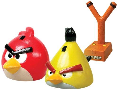 Angry Birds Nikko Radio Control 35006 iRacer Tirachinas y Figura de Color Rojo
