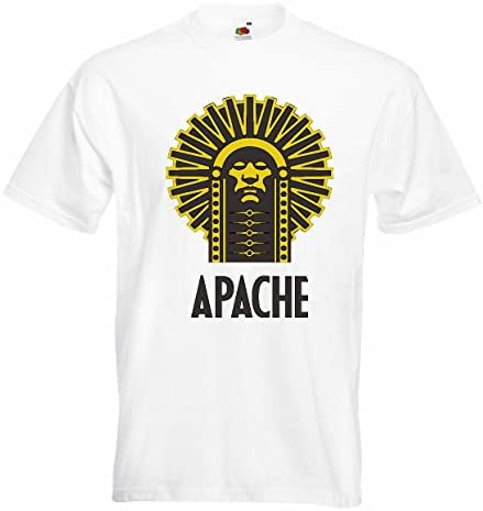 T-Shirt Camiseta Remera Indian Jefe Apache Indio Cara Tribu ...