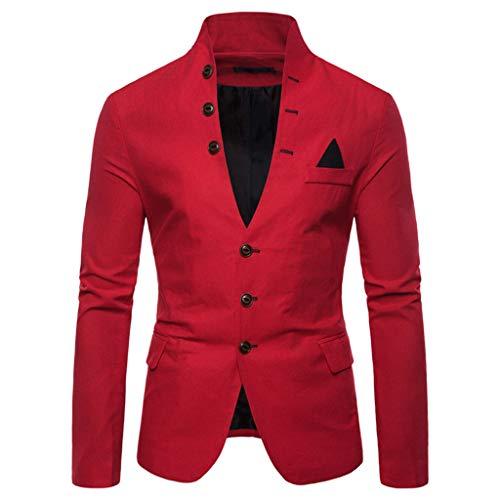 Blazer da Uomo Italily Giacca Elegante Vestito da Uomo Slim Fit Cappotto Giacca Blazer Uomo Giacca Costume Festivo Vestito da Festa Top Outwear Casual Slim Fit Blazer Coats Chic Jackets