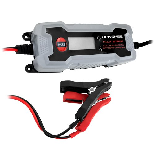 12V Battery Charger for All Lead-Acid Battery with LCD Display, Full Protection