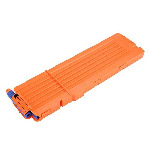 VGEBY1 Bullet Clip, Schaum Bullet Magazine Soft Bullet Clip Darts Toy Gun Zubehör(Orange)