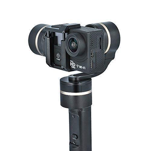 Forever Gimbal 3-assige camera stabiele houder accessoires voor actioncam sportcamera compatibel met GoPro Hero 4/3+/3