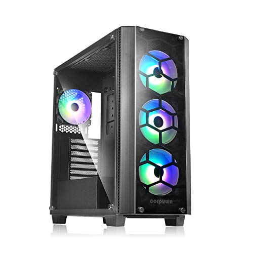 ABKONCORE C510S ATX Mid-Tower PC Gaming Case