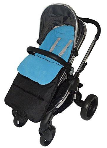 Saco/Cosy Toes Compatible con iCandy Cherry carrito de bebé, color azul