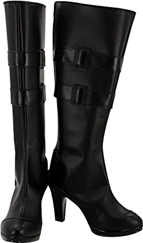MINGCHUAN Whirl Cosplay Boots Shoes for Touken Ranbu Kashuu Kiyomitsu
