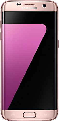 "Samsung Galaxy S7 Edge - Smartphone de 5.5"" (Octa-Core a 3.9 GHz, RAM de 4 GB, Memoria Interna de 32 GB, Camara de 12 MP y Camara Frontal de 5 MP, Android 6.0) Color Rosa"