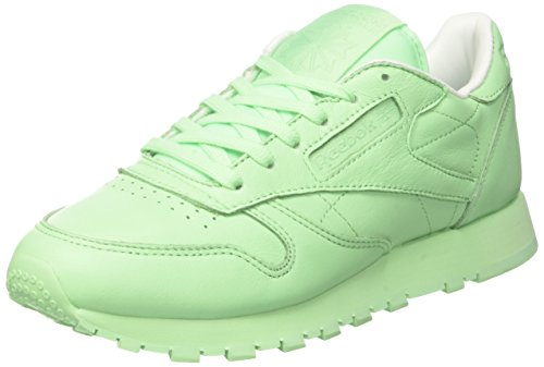 Reebok Damen X Spirit Classic Leather Laufschuhe, Grün (Mint Green/White), 35 EU