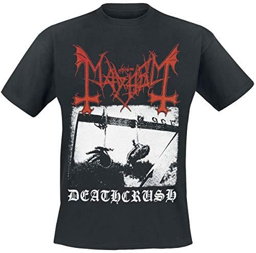 Mayhem Deathcrush Männer T-Shirt schwarz XL 100% Baumwolle Band-Merch, Bands
