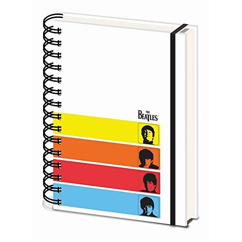 The Beatles (A Hard Day's Night) Cuaderno A5 con espiral