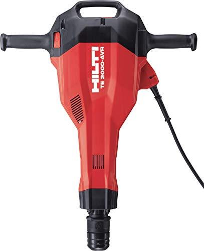 Hilti 2155477 Martillo de demolición de hormigón para trabajos en suelo, 2100 W, 230 V, Negro Rojo, 731 x 574 x 146 mm