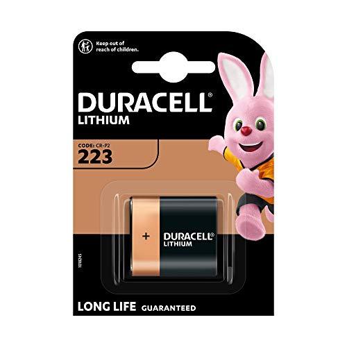Duracell - Pila especial para cámaras fotográficas - 223 B1 Ultra x...