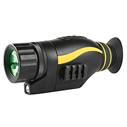 Sniper Night Vision Monocular 5X35 Night Vision Infrared IR Camera HD Digital Night Vision Scopes Take Photos and Video in HD1080P Playback Function and TF Card for Hunting