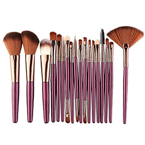 Ruluti Pinceaux de Maquillage Set Outils Poudre Cosmétique Shadow Foundation Fondation Fondation Bois Beauty Maquillage Brosse