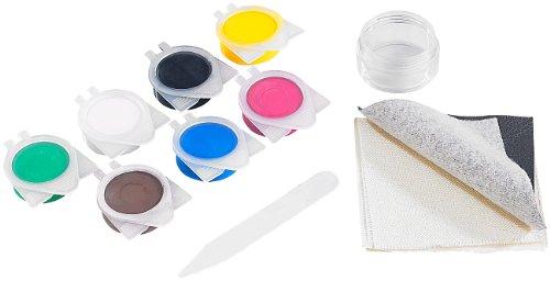 AGT Kunstleder Reparaturset: Reparatur-Set MRS-44.lks für Leder- und Stoff-Oberflächen (Lederreperaturset)