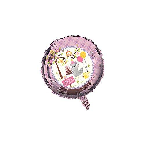 Ballon Animaux des bois fille