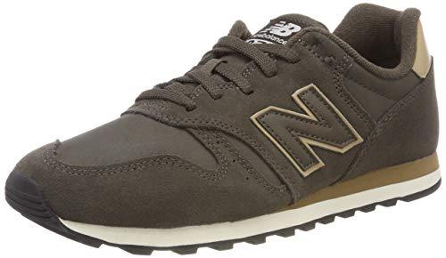 New Balance ML373, Zapatillas para Hombre, Verde (Black Olive/Hemp Brt), 42 EU