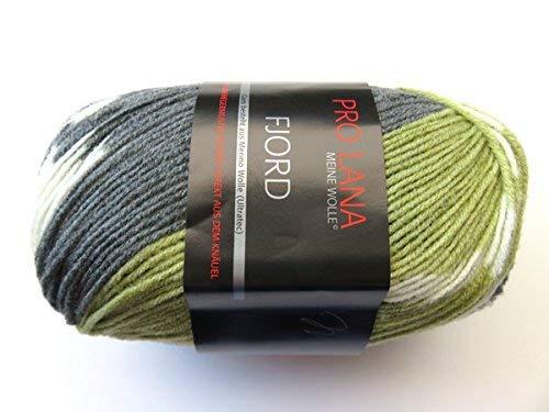 Fjord olivgrün Das Muster Kommt Direkt vom Knäuel
