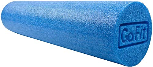 GoFit Foam Roller and Manual - Pre and Post Workout Muscle Relief
