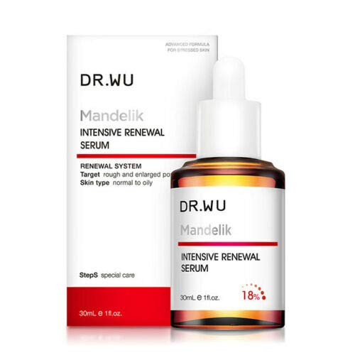 Dr.Wu 30ml Daily Renewal Serum With Mandelic Acid 18% Plus From Taiwan