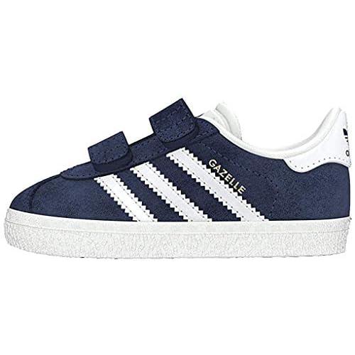 adidas Gazelle CF I, Pantofole Unisex-Bambini, Blu (Maruni/Ftwbla 000), 20 EU
