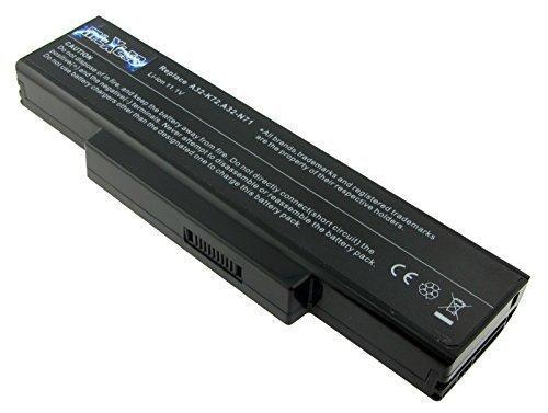 MTXtec Batterie d'ordinateur portable, LiIon, 10.8V, 5200mAh (56Wh), A32-K72 pour Asus K72, K72Dr, K72DY, K72F, K72JB, K72D, K72DY, K72F, K72J, K72JA, K72JB, K72JC, K72JE, K72JF, K72JM, K72Jo, K72JQ, K73 X72 X73