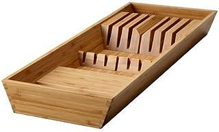 Cuchillo - organizadores del cajón de la bandeja, bambú